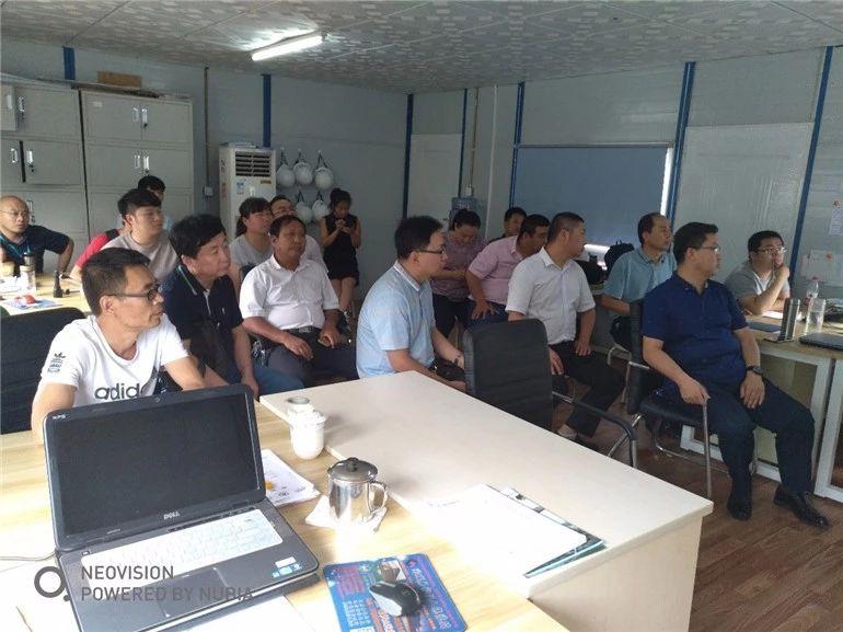 北京诺士诚、中城投五局、广联达联合举办民海生物项目BIM建造观摩交流会-协筑